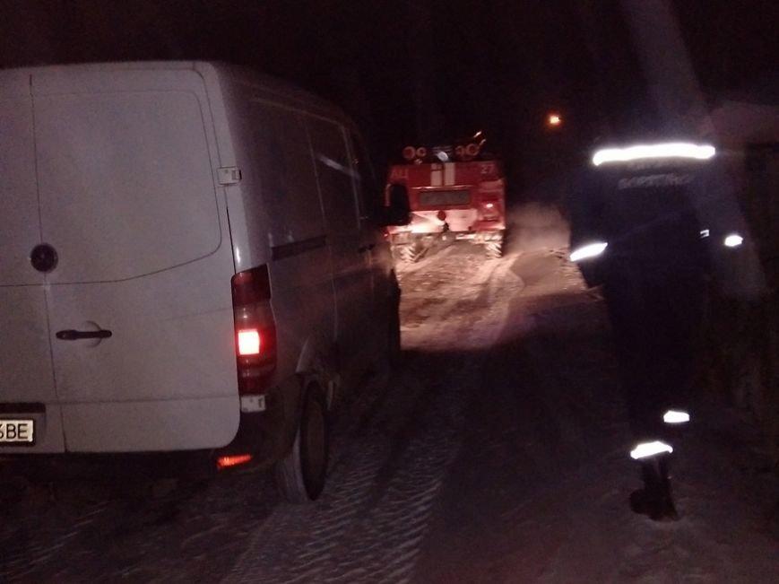 У Хмельницькій області рятувальники з 7 на 8 січня вивільнили з снігових заметів 65 осіб, фото-1