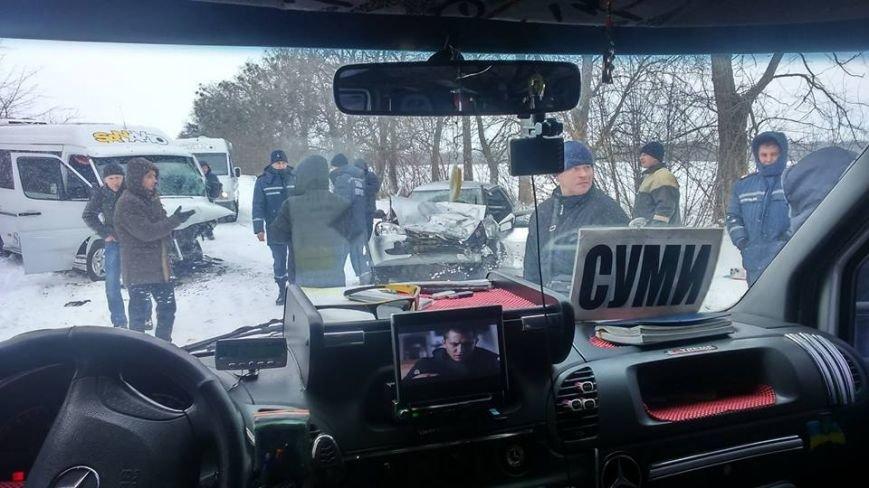 На трассе Сумы-Киев смертельное ДТП (ФОТО), фото-1