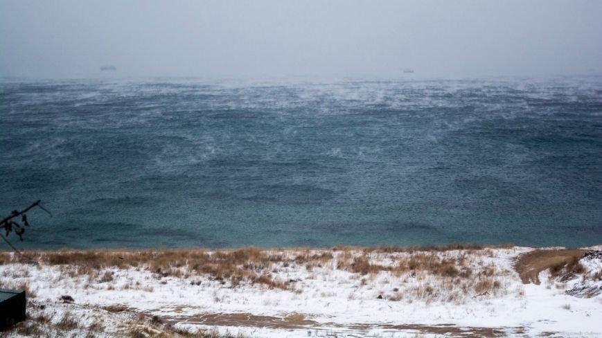 В Одессе снова парило море (ФОТО), фото-1
