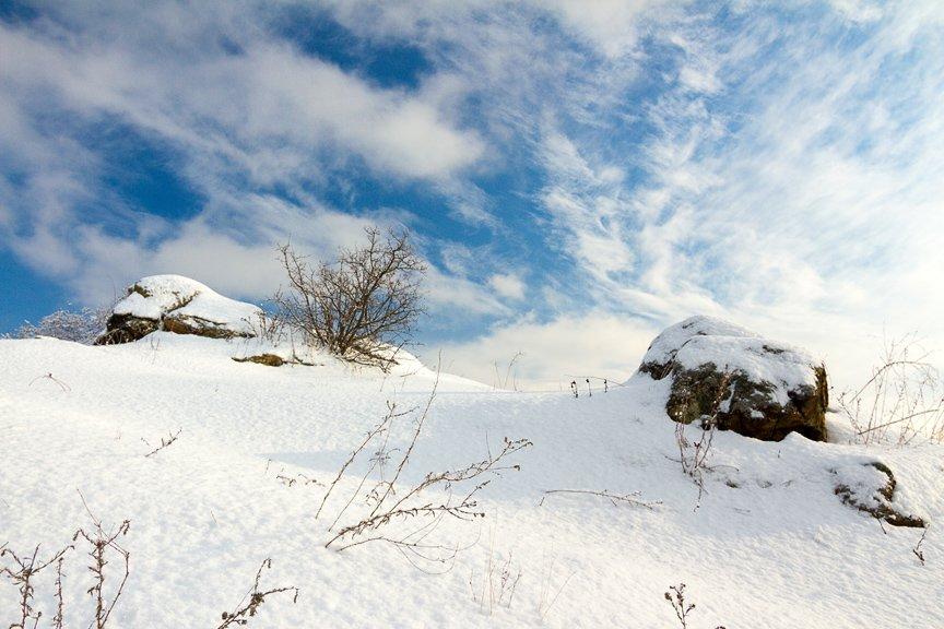 Зима на Хортице: фоторепортаж Алексея Толмачева, фото-20