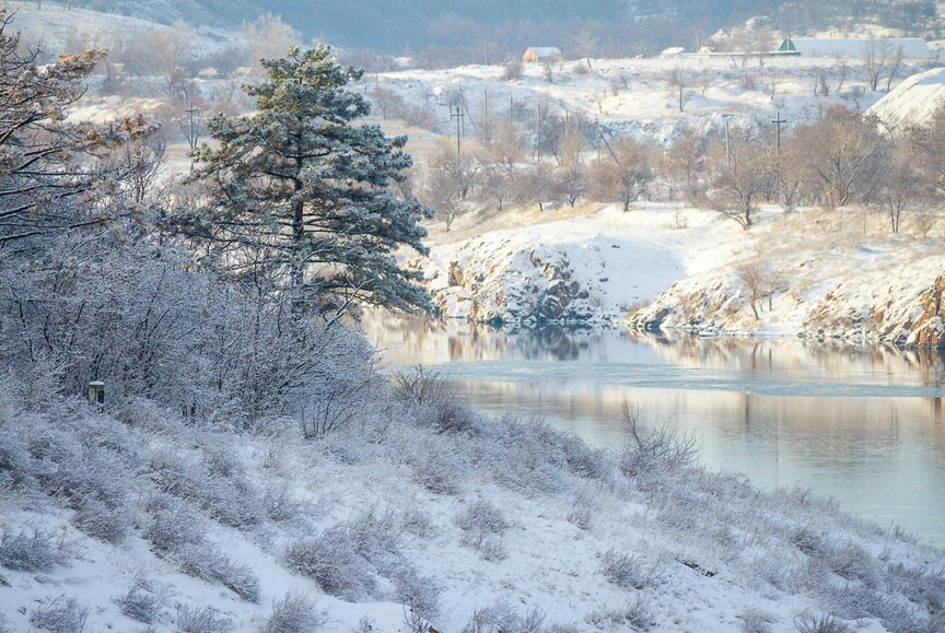Зима на Хортице: фоторепортаж Алексея Толмачева, фото-1