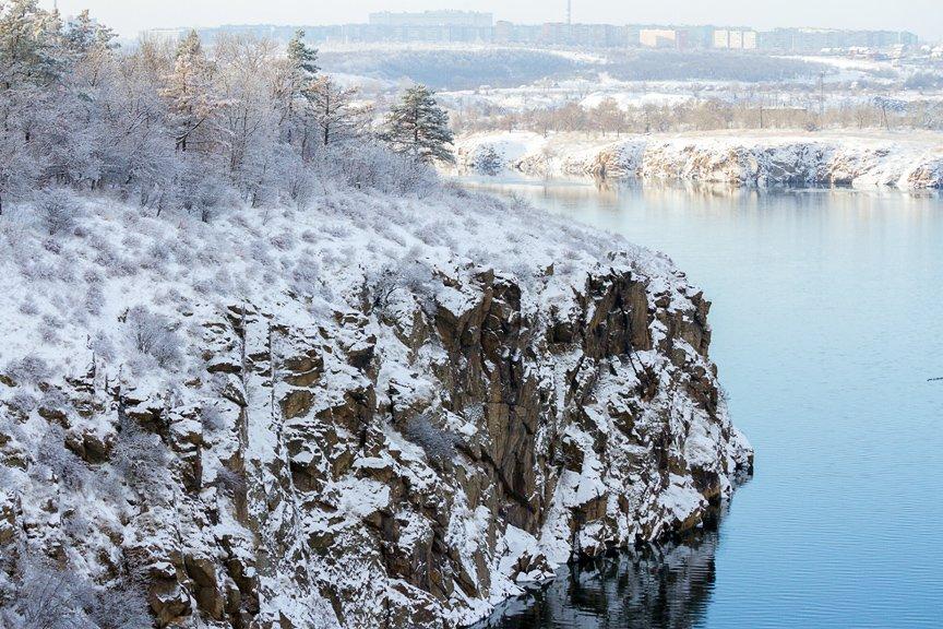 Зима на Хортице: фоторепортаж Алексея Толмачева, фото-3