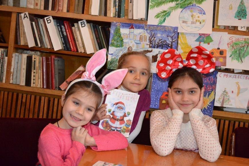 В Гаспринском санатории дети учились делать Рождественские открытки, фото-3