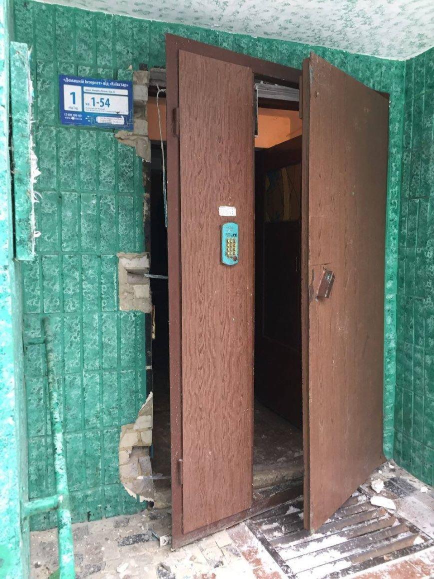 В Сумах патрульные эвакуировали жителей дома на пр. Лушпы, где прогремел взрыв (ФОТО), фото-2