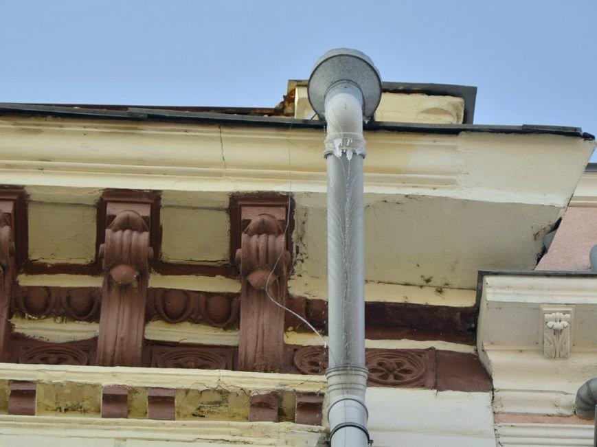 На зданиях Одессы образовались опасные сосульки (ФОТО), фото-4
