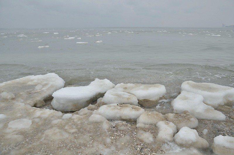 Море в Одесском заливе не успело замерзнуть (ФОТО), фото-10