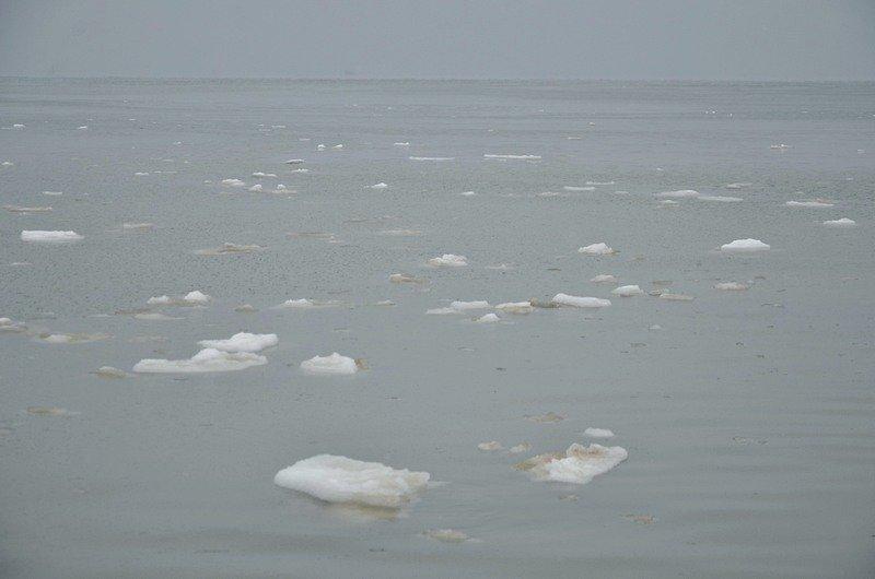Море в Одесском заливе не успело замерзнуть (ФОТО), фото-9