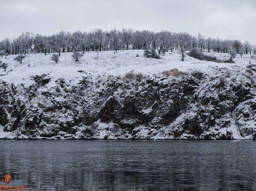 Зимнее Запорожье: вид из байдарки, - ФОТОРЕПОРТАЖ, фото-13
