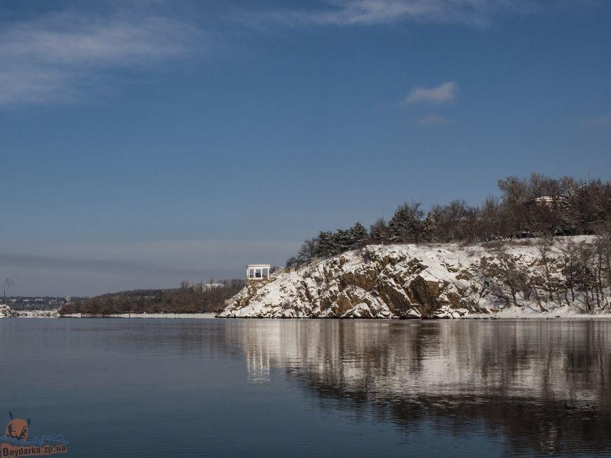 Зимнее Запорожье: вид из байдарки, - ФОТОРЕПОРТАЖ, фото-9