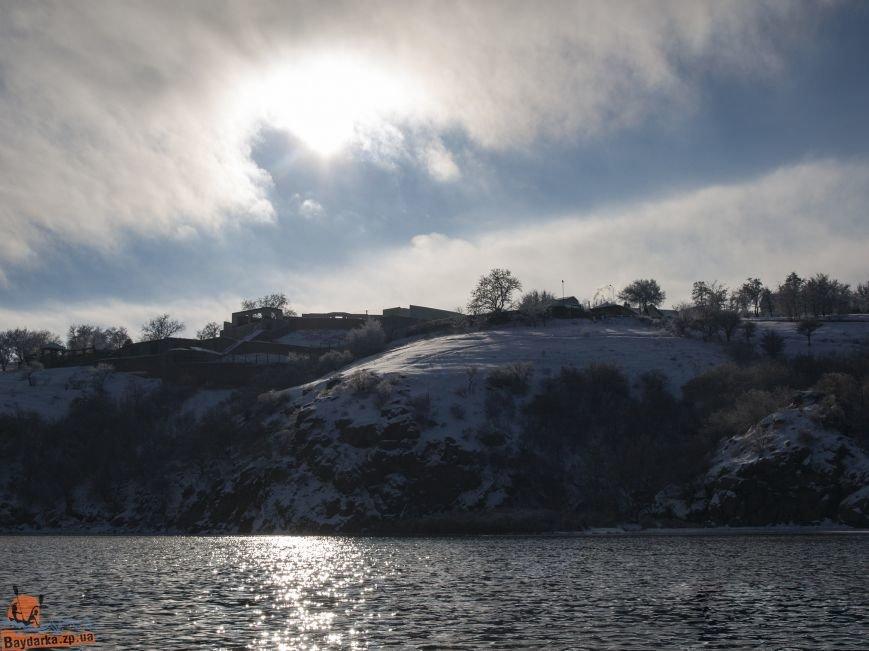Зимнее Запорожье: вид из байдарки, - ФОТОРЕПОРТАЖ, фото-6