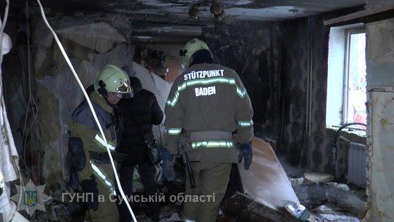Сумчанин, подорвавший свою квартиру на пр.Лушпы, получил около 20% ожогов тела, фото-2