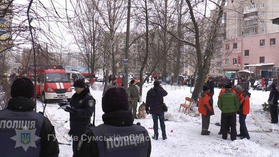 Сумчанин, подорвавший свою квартиру на пр.Лушпы, получил около 20% ожогов тела, фото-4