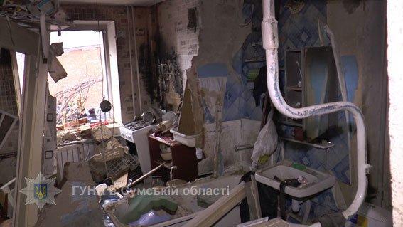 Сумчанин, подорвавший свою квартиру на пр.Лушпы, получил около 20% ожогов тела, фото-1