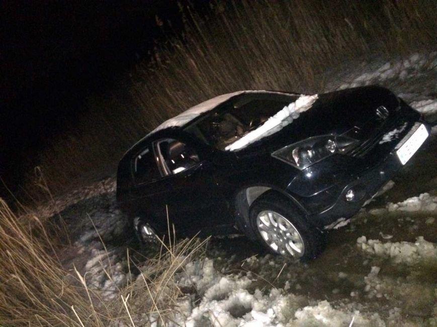 "В Днепропетровской области автомобиль ""Honda"" съехал в водоем (ФОТО), фото-1"