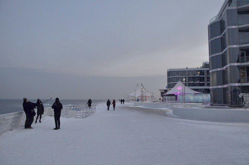 Набережная на одесском пляже стала похожа на ледокол (ФОТО), фото-1
