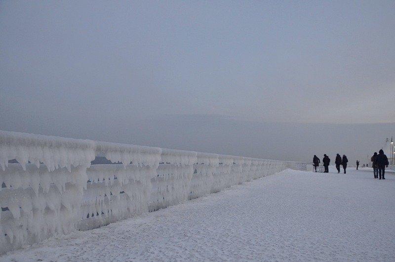 Набережная на одесском пляже стала похожа на ледокол (ФОТО), фото-6