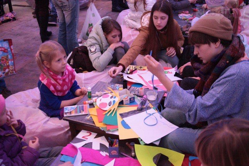 Павильон детского творчества на «Рождественских гуляниях» - тонна эмоций и радости, фото-2