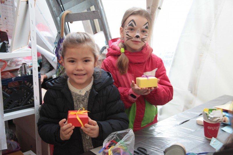 Павильон детского творчества на «Рождественских гуляниях» - тонна эмоций и радости, фото-6