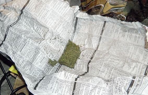 У мариупольского разбойника полицейские изъяли 2 кг конопли (ФОТО), фото-1