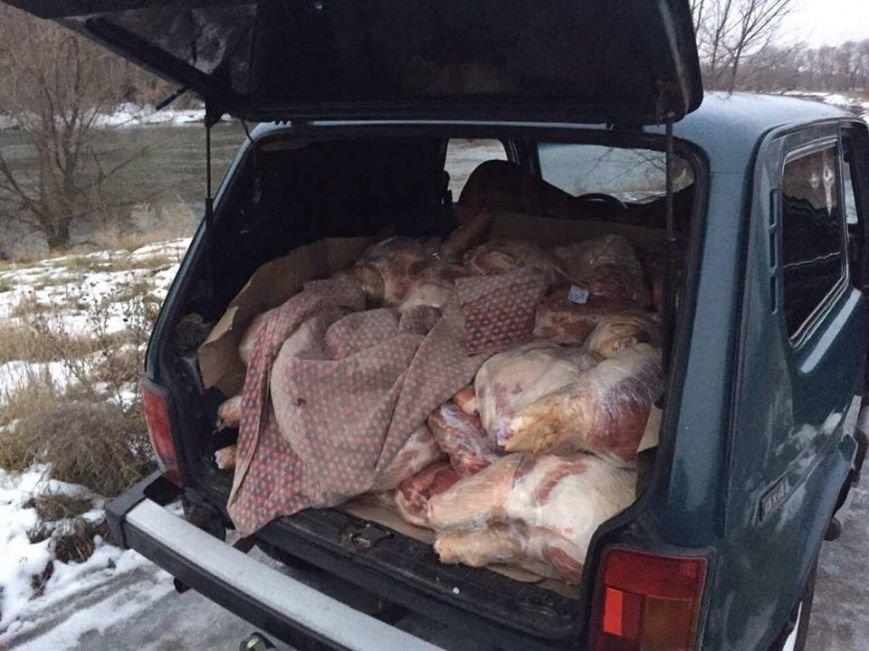 """До """"ЛНР"""" не довезли две тонны свинины (ФОТО), фото-1"""
