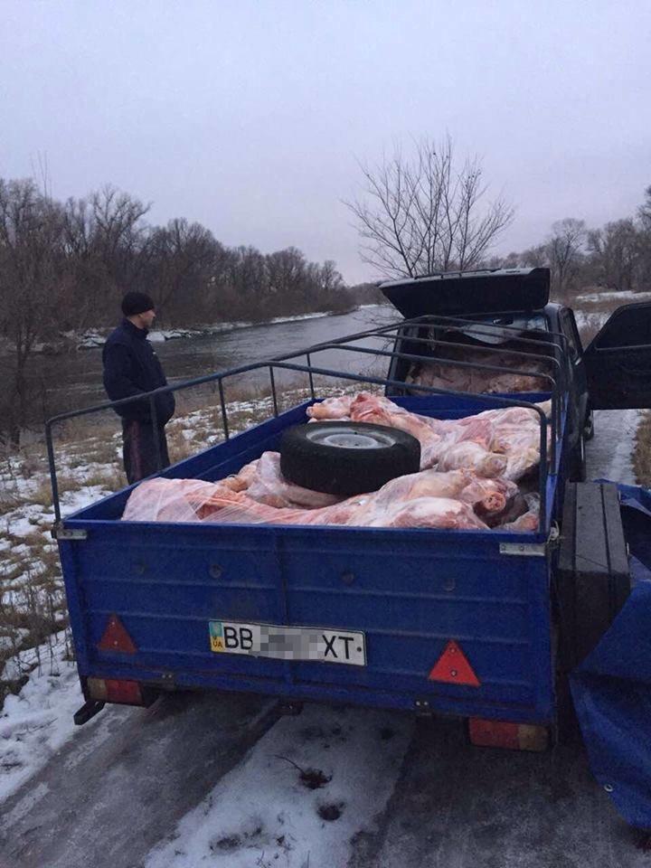 """До """"ЛНР"""" не довезли две тонны свинины (ФОТО), фото-2"""