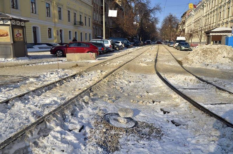 В Одессе снег завершил ремонт Тираспольской площади (ФОТО), фото-11