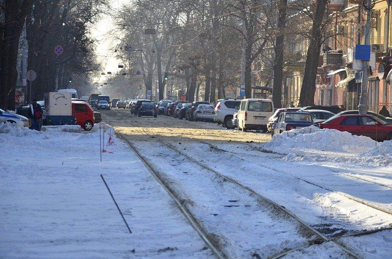 В Одессе снег завершил ремонт Тираспольской площади (ФОТО), фото-4