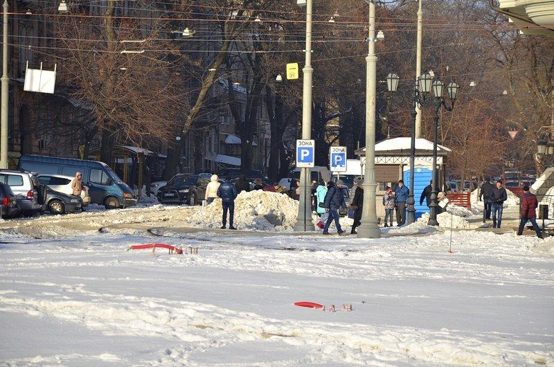В Одессе снег завершил ремонт Тираспольской площади (ФОТО), фото-7