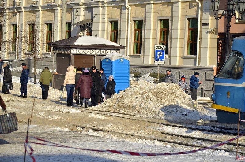 В Одессе снег завершил ремонт Тираспольской площади (ФОТО), фото-8