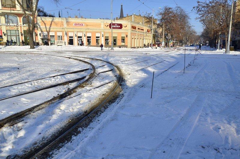 В Одессе снег завершил ремонт Тираспольской площади (ФОТО), фото-3
