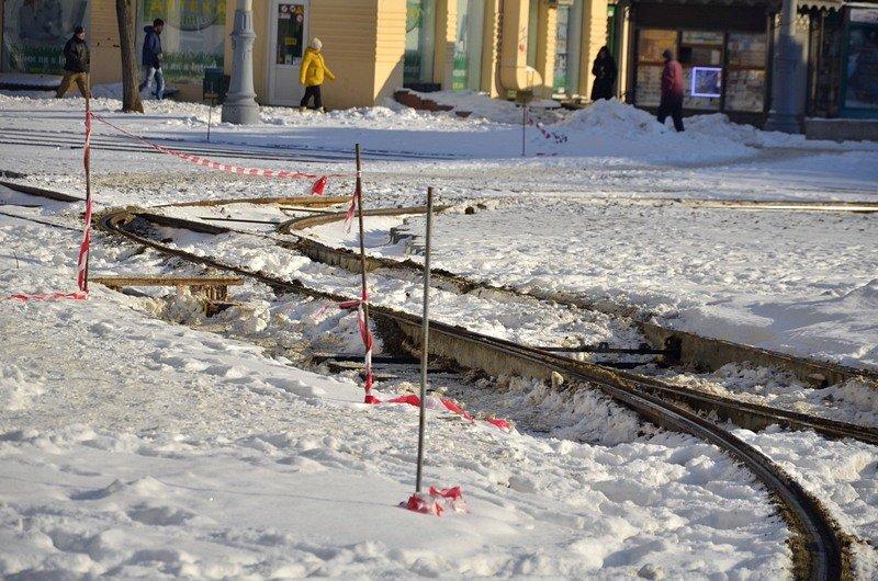 В Одессе снег завершил ремонт Тираспольской площади (ФОТО), фото-12