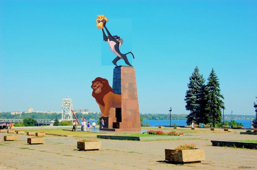 """На месте запорожского Ленина предлагают поставить героев мультфильма """"Король лев"""", фото-1"""