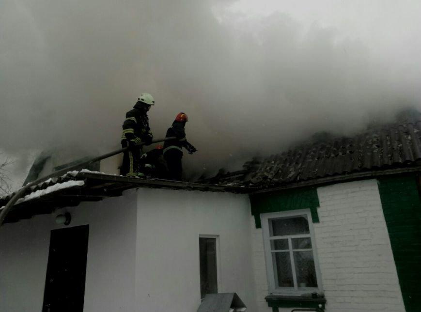 Пожар в Вишневом (ФОТО), фото-1
