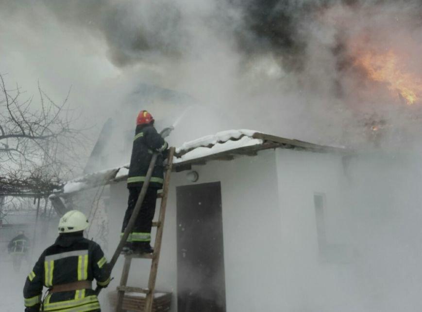 Пожар в Вишневом (ФОТО), фото-2