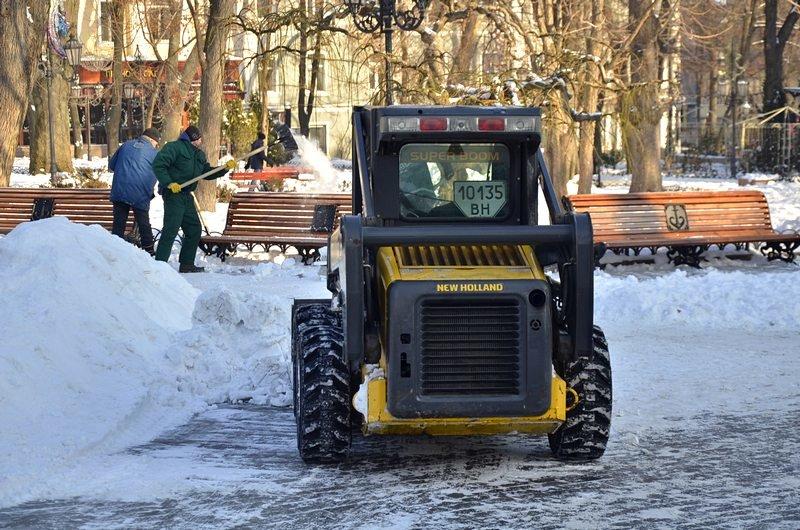 В Одессе не справляются с уборкой снега на улицах (ФОТО, ОПРОС), фото-24