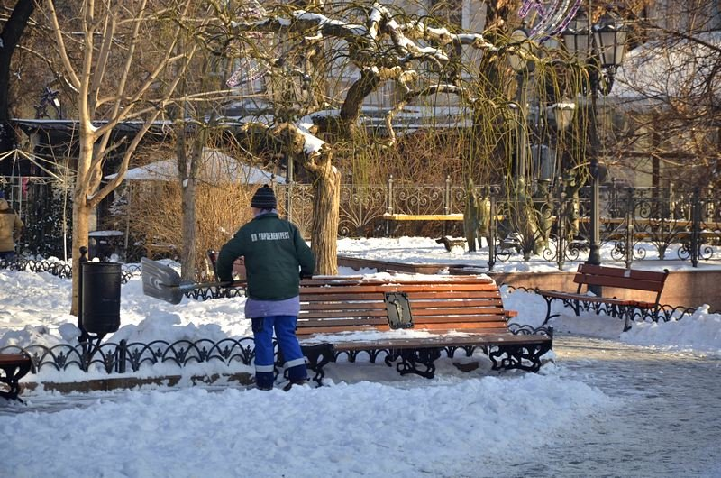 В Одессе не справляются с уборкой снега на улицах (ФОТО, ОПРОС), фото-25
