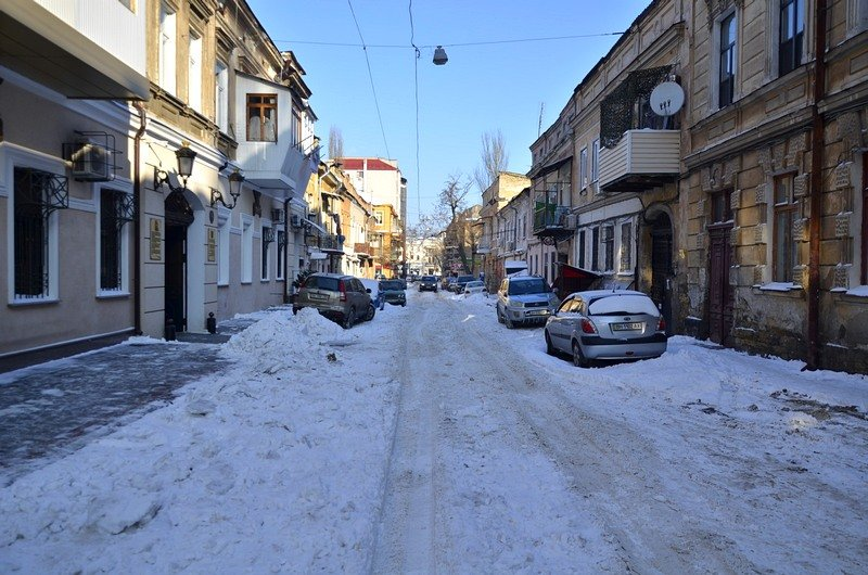 В Одессе не справляются с уборкой снега на улицах (ФОТО, ОПРОС), фото-3