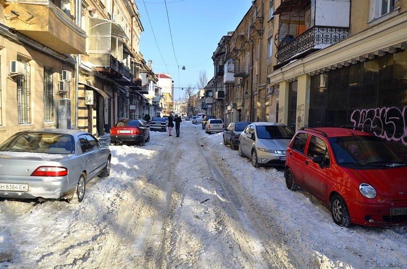 В Одессе не справляются с уборкой снега на улицах (ФОТО, ОПРОС), фото-2
