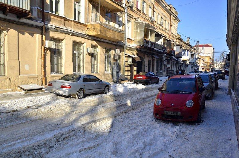 В Одессе не справляются с уборкой снега на улицах (ФОТО, ОПРОС), фото-1