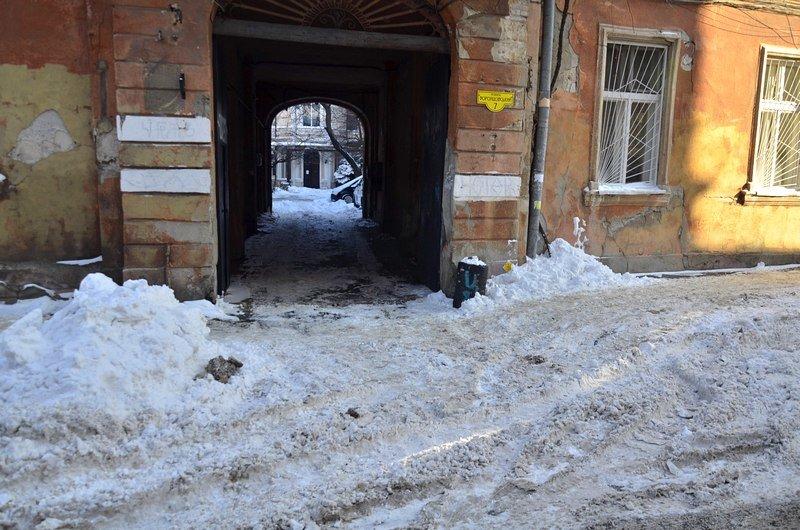 В Одессе не справляются с уборкой снега на улицах (ФОТО, ОПРОС), фото-23