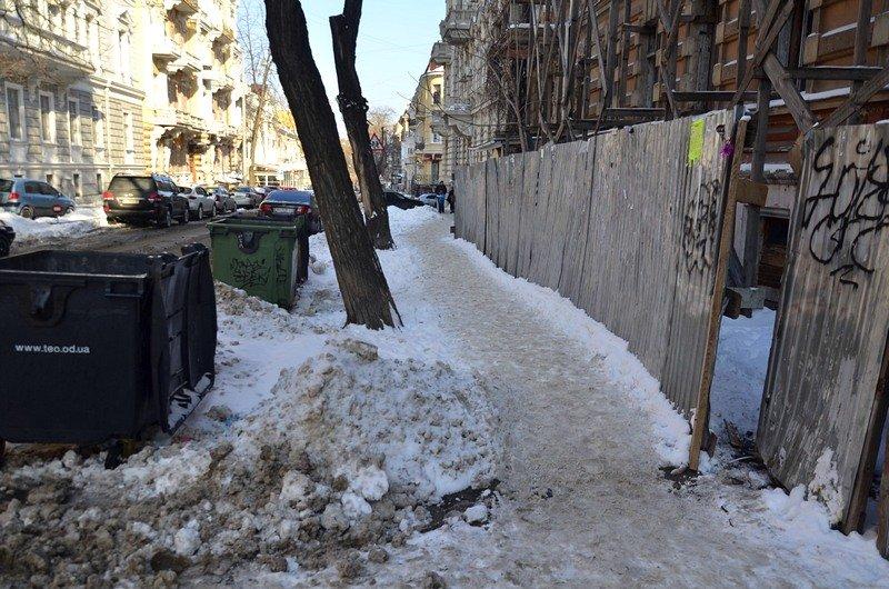 В Одессе не справляются с уборкой снега на улицах (ФОТО, ОПРОС), фото-11