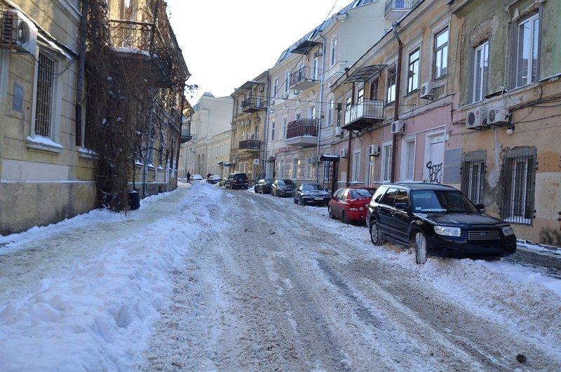 В Одессе не справляются с уборкой снега на улицах (ФОТО, ОПРОС), фото-22