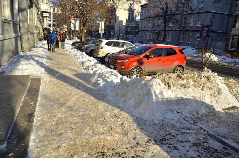 В Одессе не справляются с уборкой снега на улицах (ФОТО, ОПРОС), фото-10