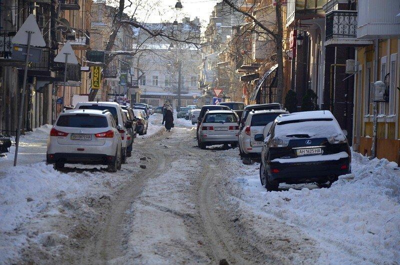 В Одессе не справляются с уборкой снега на улицах (ФОТО, ОПРОС), фото-9