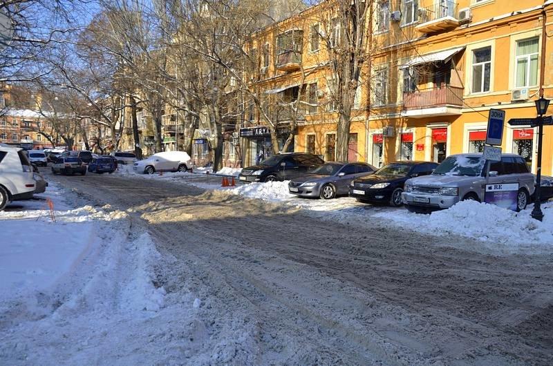 В Одессе не справляются с уборкой снега на улицах (ФОТО, ОПРОС), фото-5