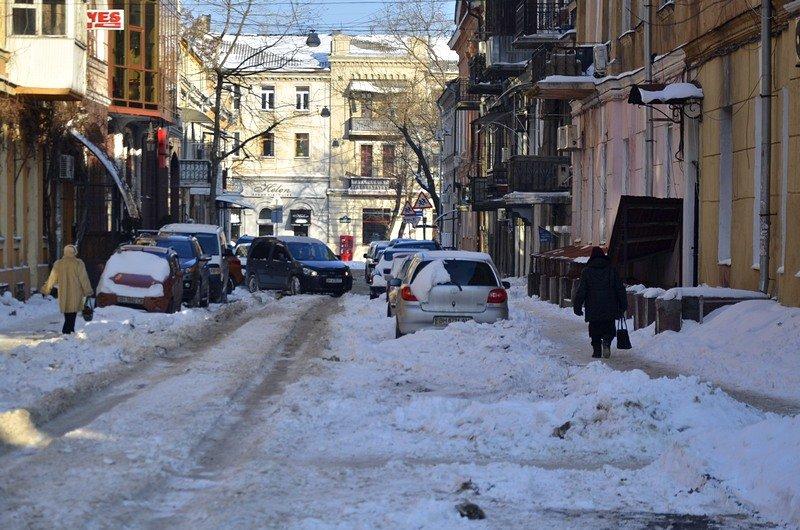 В Одессе не справляются с уборкой снега на улицах (ФОТО, ОПРОС), фото-6