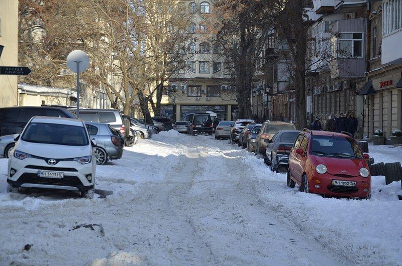 В Одессе не справляются с уборкой снега на улицах (ФОТО, ОПРОС), фото-8