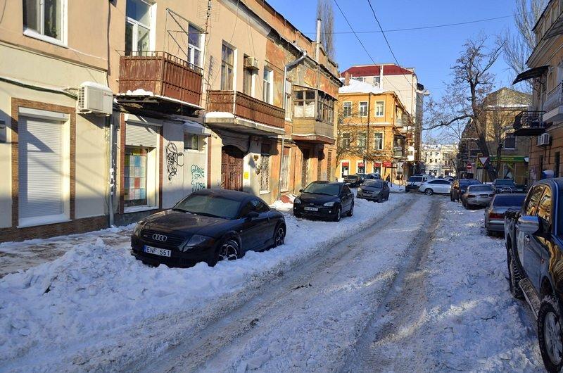 В Одессе не справляются с уборкой снега на улицах (ФОТО, ОПРОС), фото-4