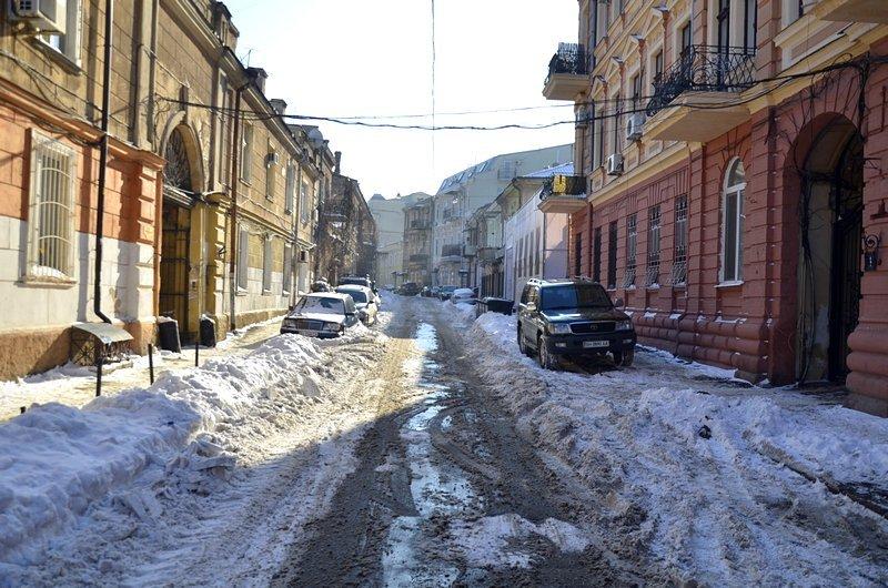 В Одессе не справляются с уборкой снега на улицах (ФОТО, ОПРОС), фото-21