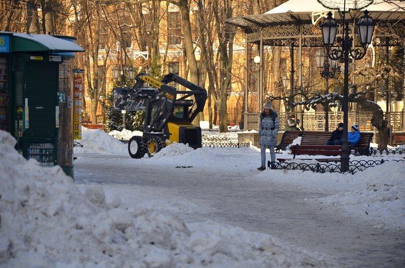 В Одессе не справляются с уборкой снега на улицах (ФОТО, ОПРОС), фото-27